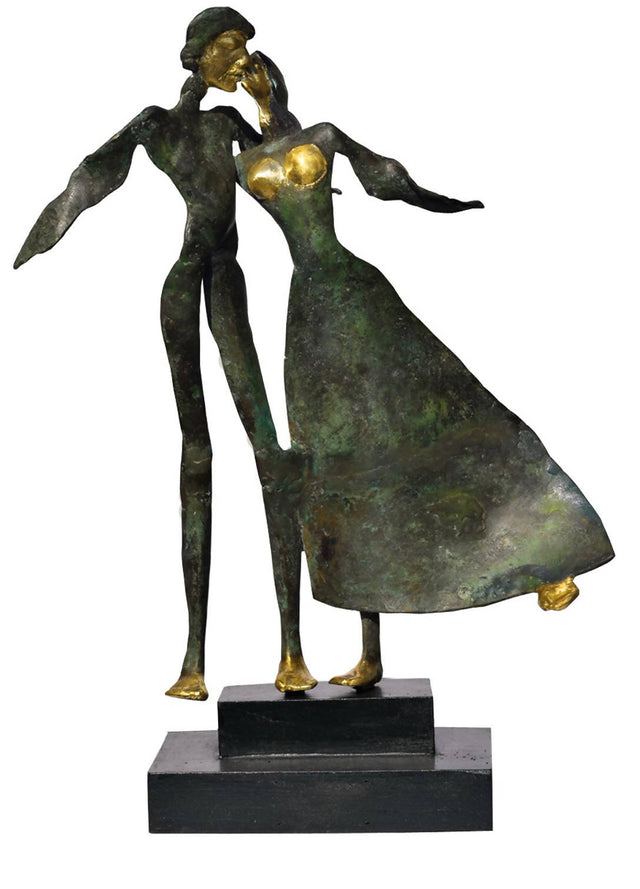 Golden Touch in bronze sculpture