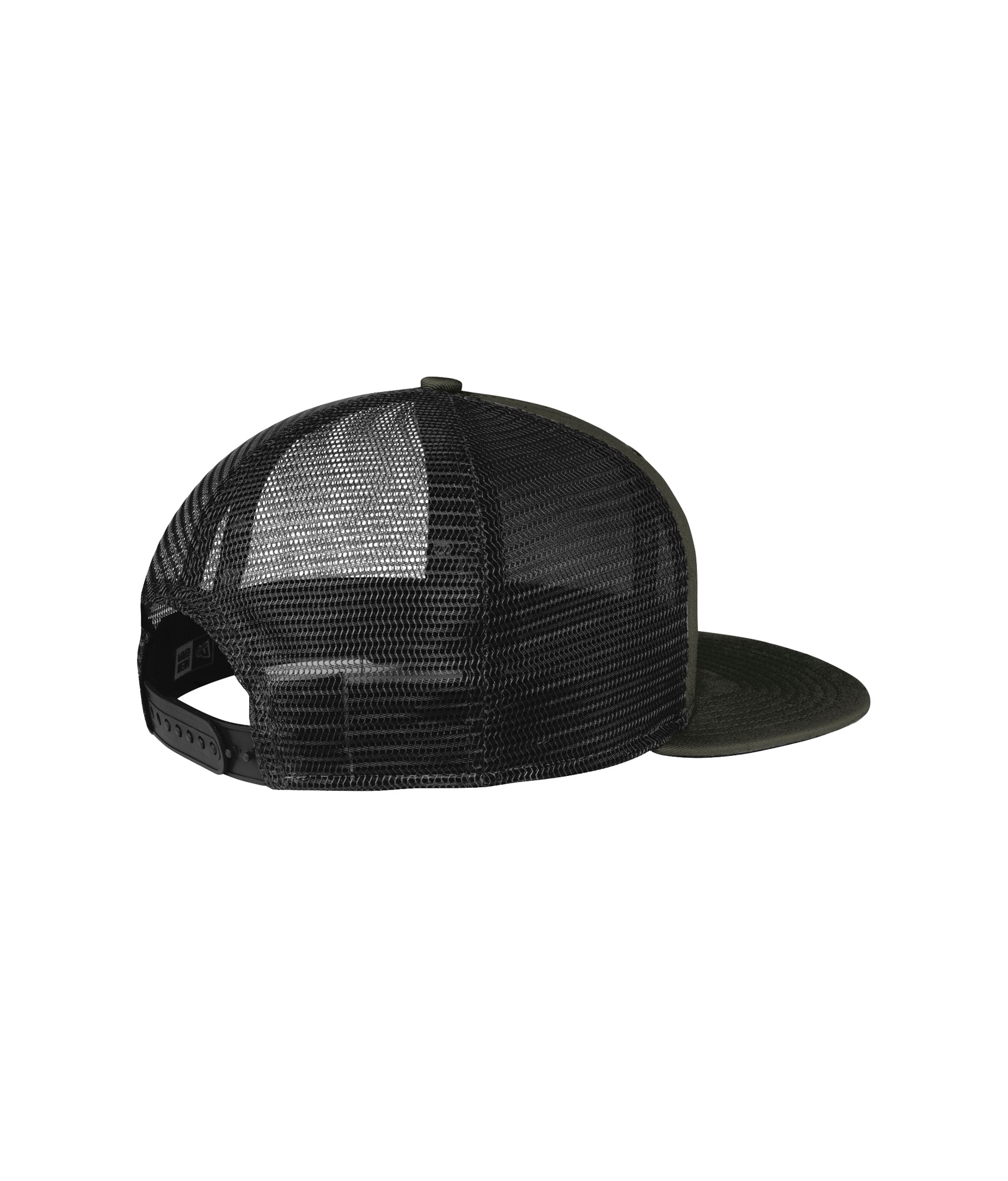 USKN RACE WEAR Flat Bill Snapback Hat
