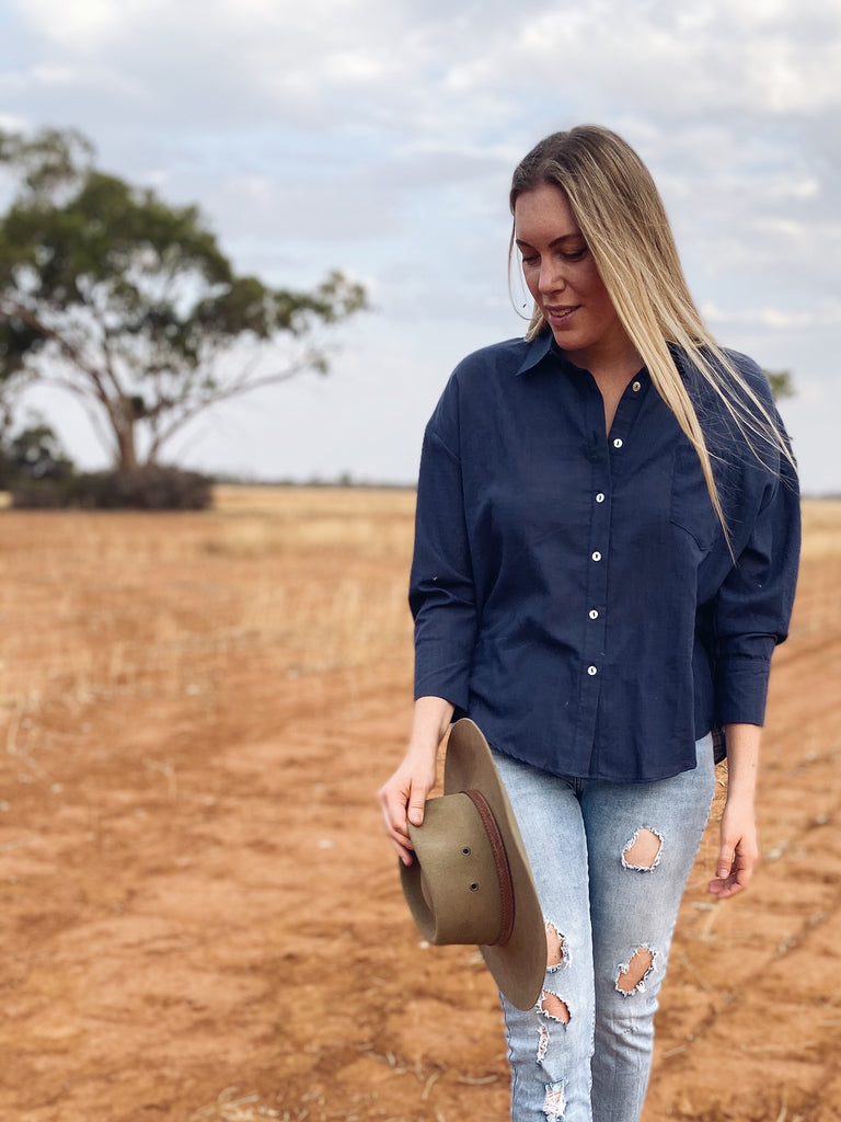 Katie Shirt Navy
