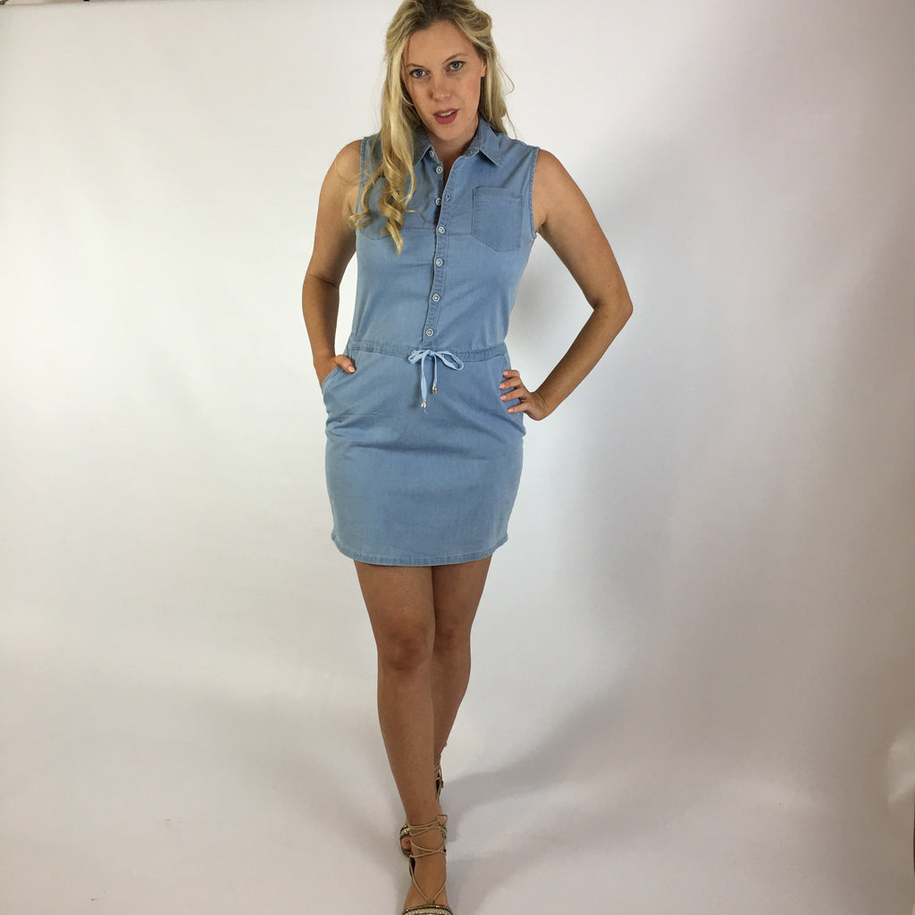 Olivia Denim Shirt Dress