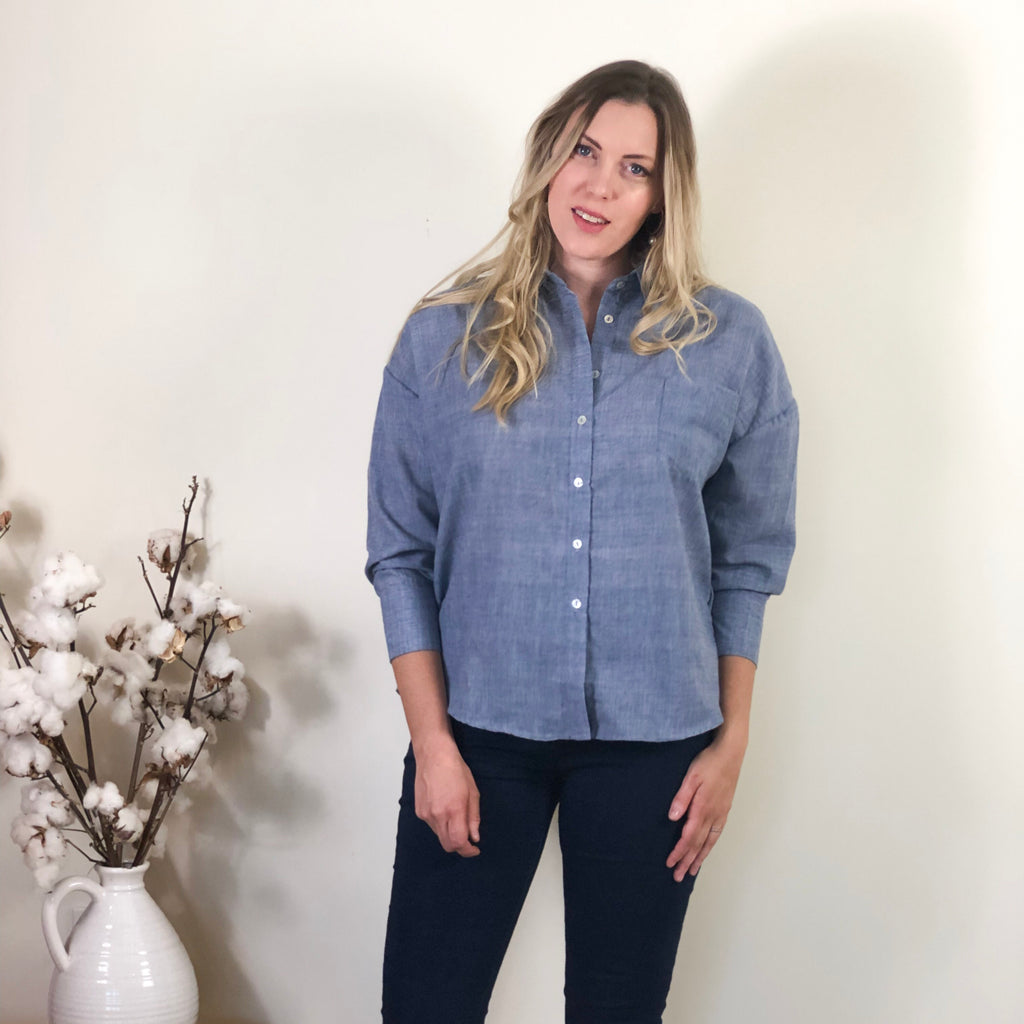 Katie Shirt Chambray