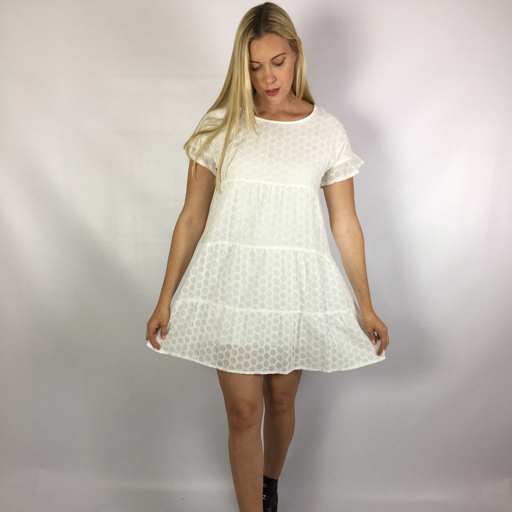 Dizzy Dress White