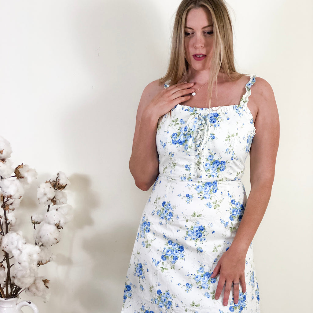 Mazie Blue Floral Dress