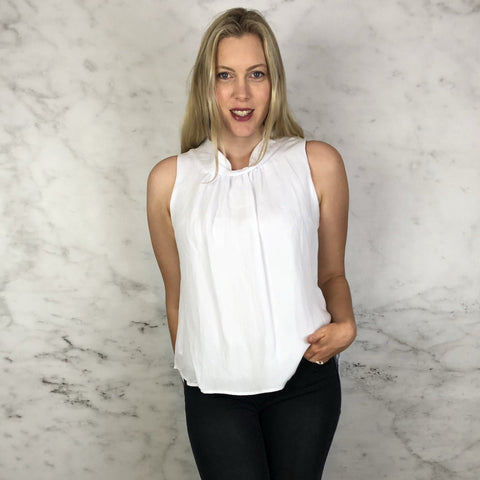 Betsy Blouse White