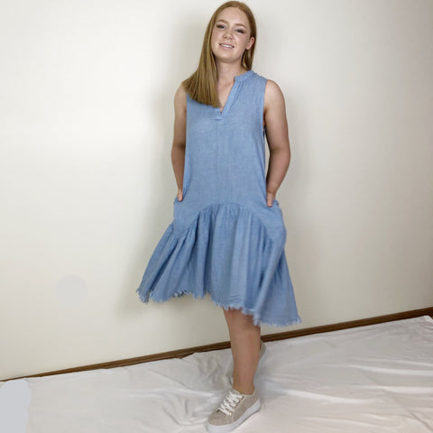 Kota Dress Chambray