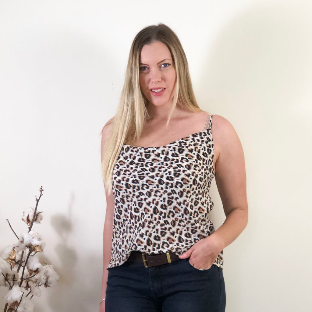 Geri Top Leopard
