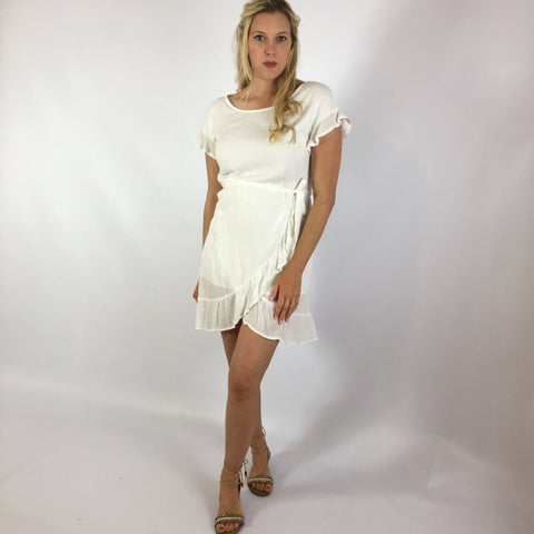 Lissa Dress White