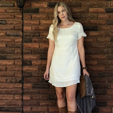 Nina Dress Off White