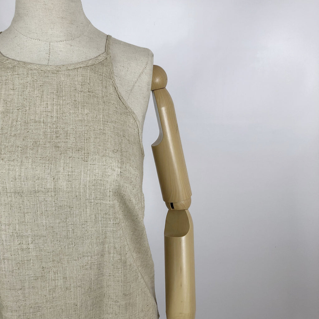 Sally Top Natural Linen