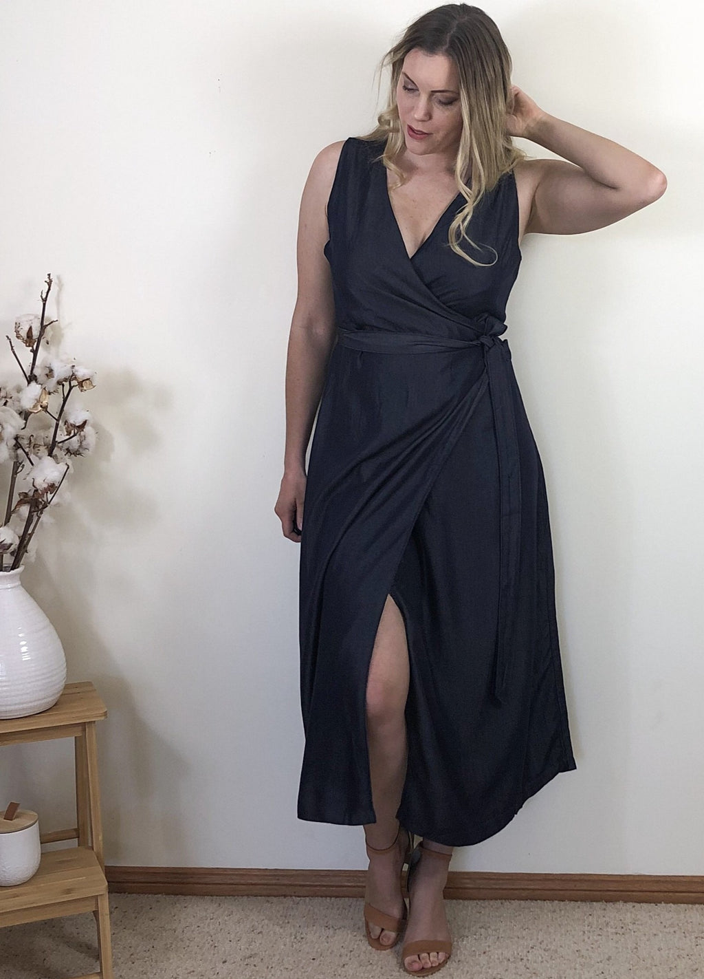Belinda Maxi Wrap Dress