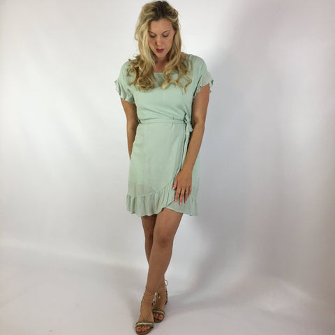 Lissa Dress Seafoam
