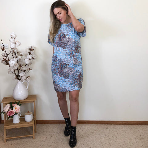 Livi Shift Dress Blue