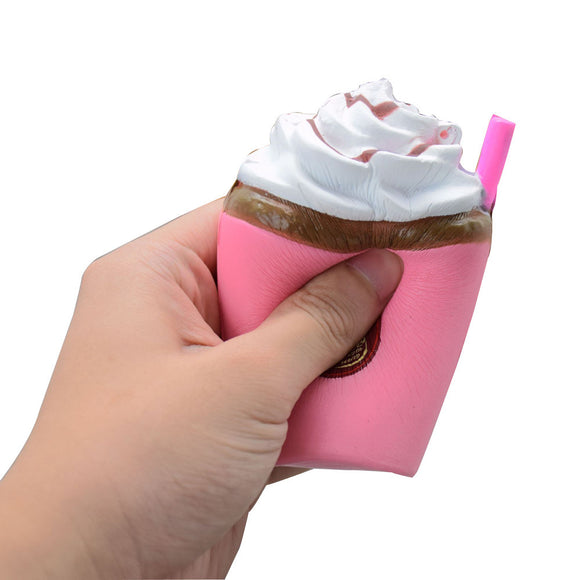 Colossal Cup Cake Slow Rising Cream Scented Soft Toy Party Favor Gift