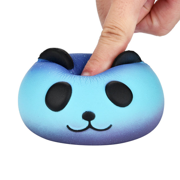 Fun 2PCS Galaxy Panda Cute Scented Squishies Slow Rising Soft Squeeze Charms Toy