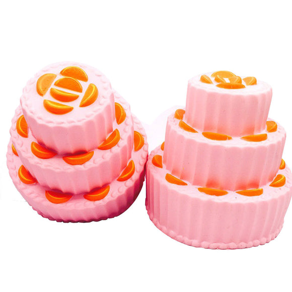 Jumbo Multi-layer Cake Squishy Slow Rising Cream Scented Decompression Toys