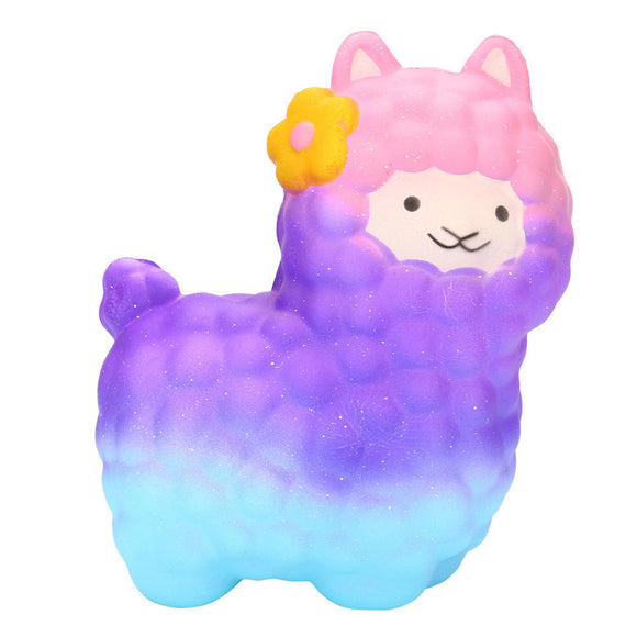 Jumbo Sheep Squishy Cute Alpaca Super Slow Rising Scented Fun Animal Toys