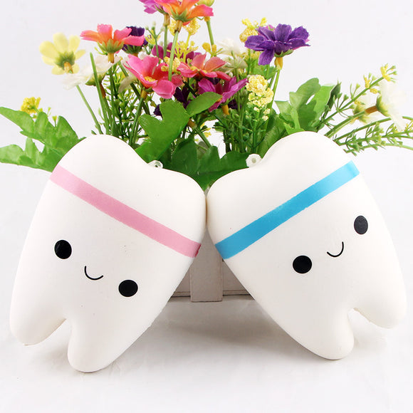 10.5cm Upscale Jumbo Squishy Kawaii Teeth