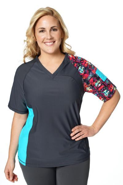 V-Neck Coastal Rashguard