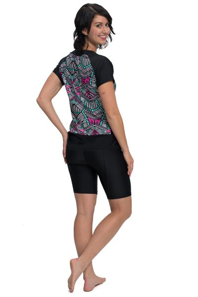 Eclipse Swim and Sport Short Sleeve Rashguard