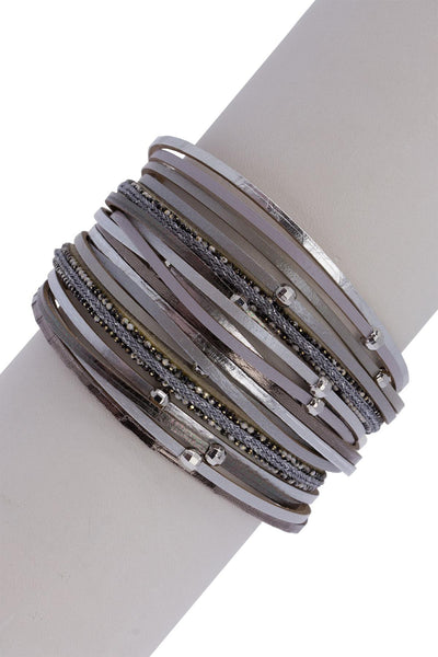 Tall Orbit Bracelet Stack