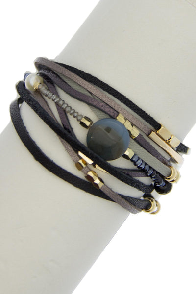 Under the Moon Grey Bracelet