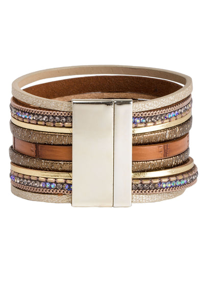 Brown Hamptons Stack Bracelet
