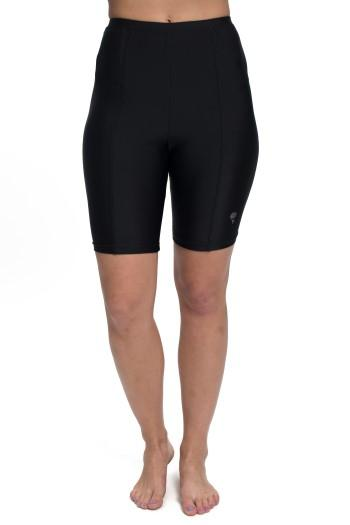Diving Diva Black Swim Bike Shorts