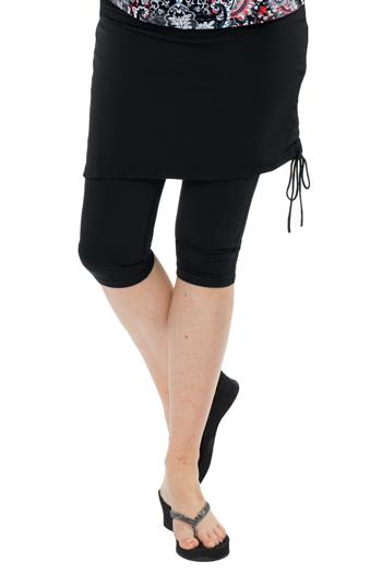 Ruched Runner Swim Skirt