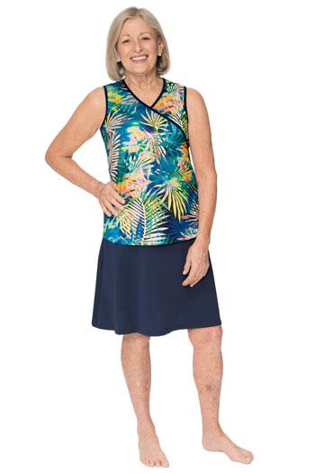 "Swing Skirt 21""-Chlorine Proof Cover Up skirt (No Attached Shorts)"