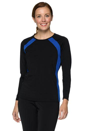 Long Sleeve Slimming Rash Guard - Chlorine Proof