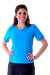 Adventure Chic V Neck Short Sleeve Swim Shirt - Chlorine Proof