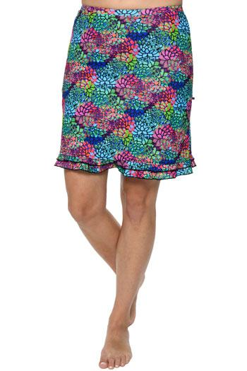 "Cross Training Swim Skirt 18.5""- Chlorine Proof (with attached shorts)"