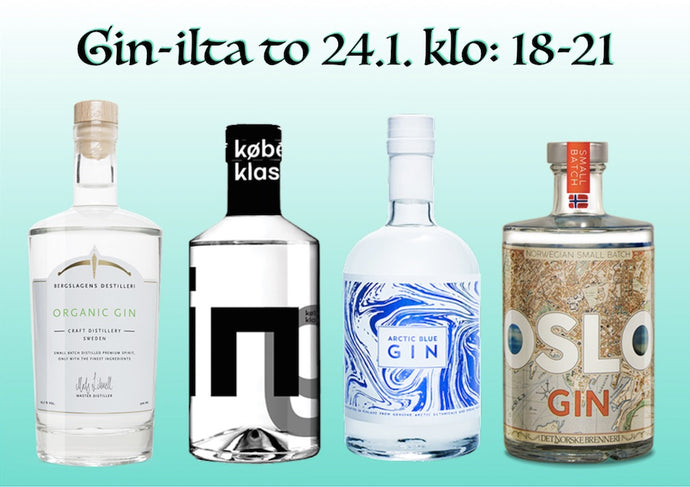 Palaverin Gin-ilta to 24.1.2019
