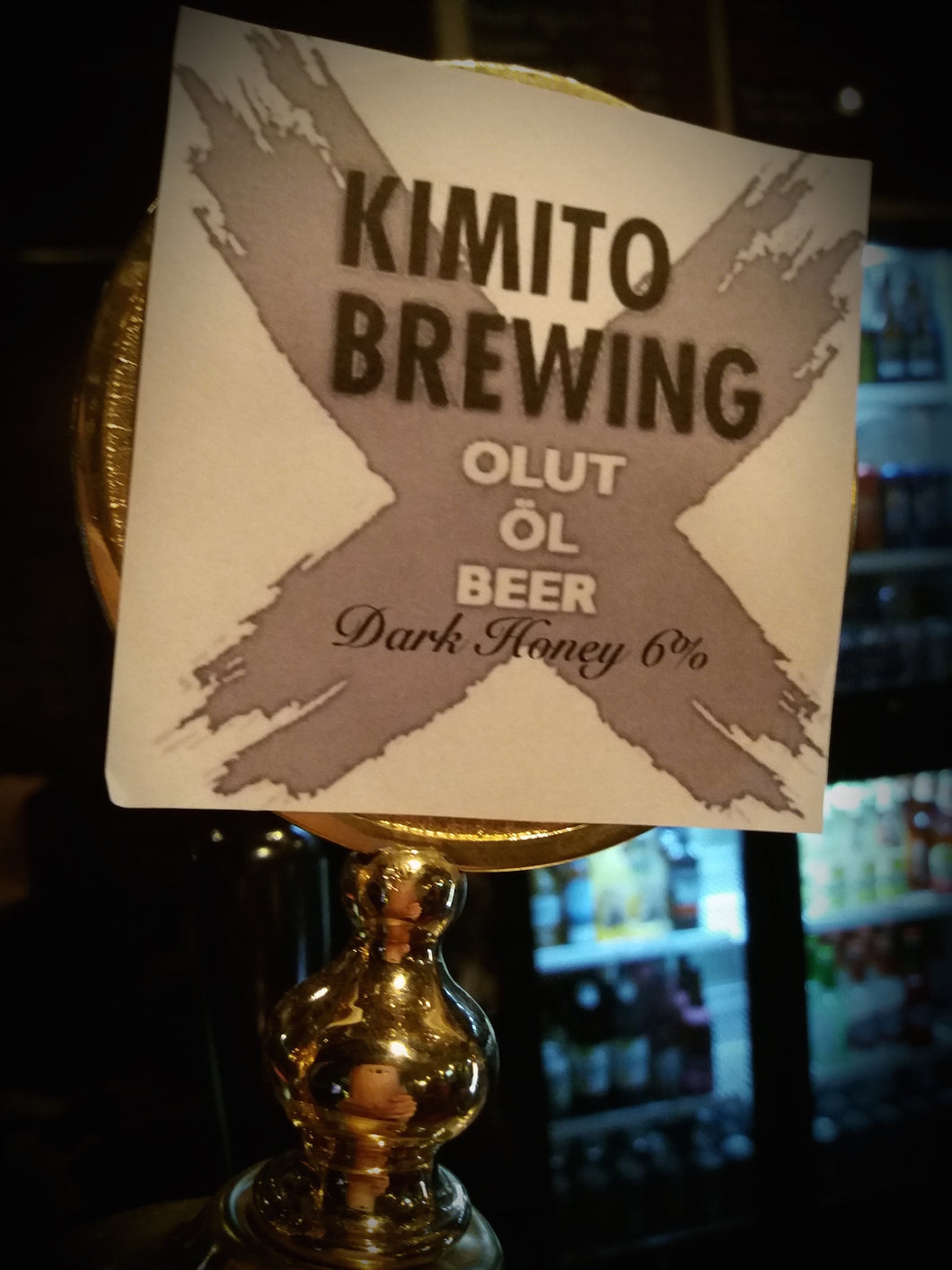 Kimito Brewing Dark Honey
