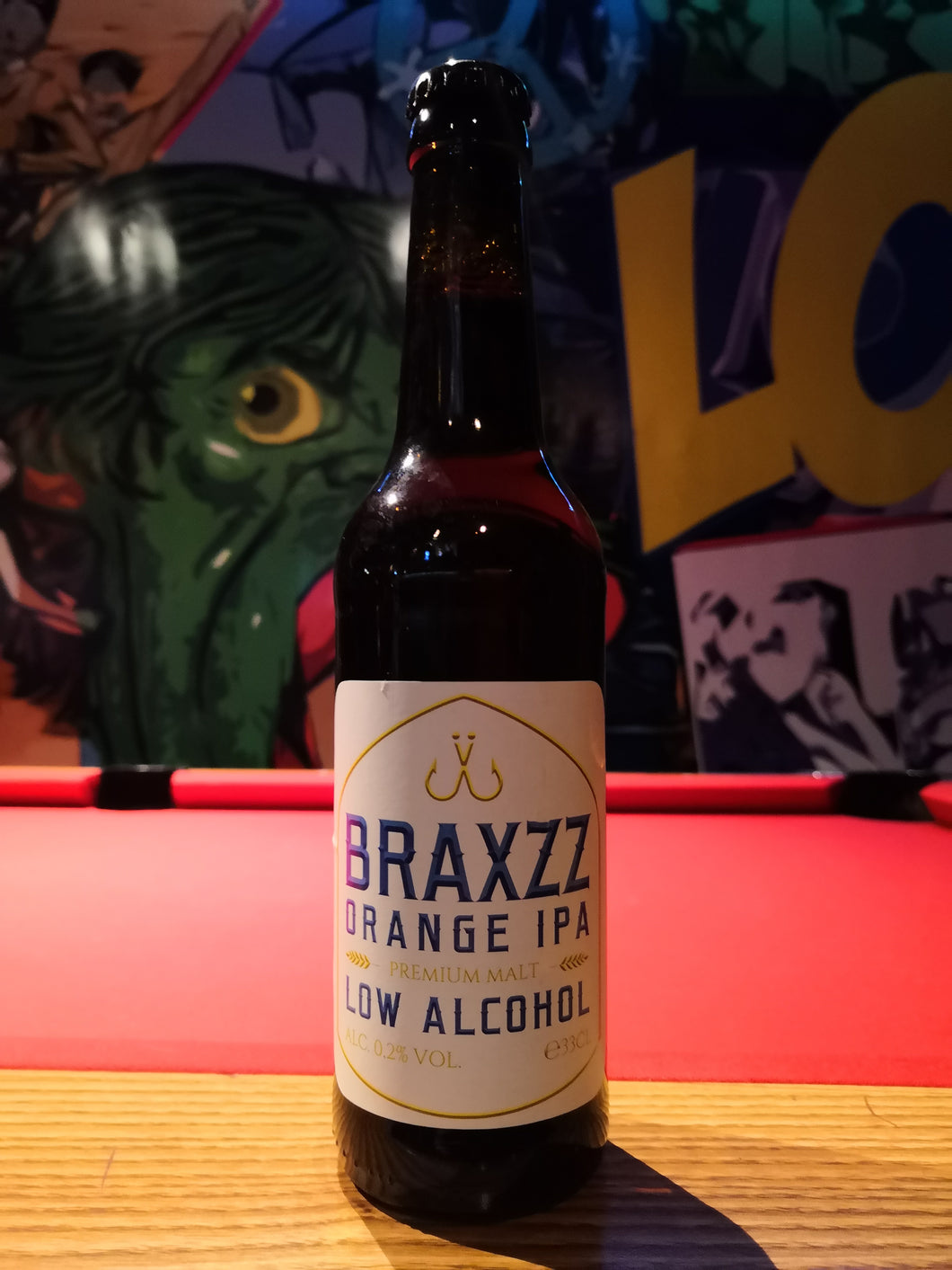 Braxzz Orange IPA Low Alcohol