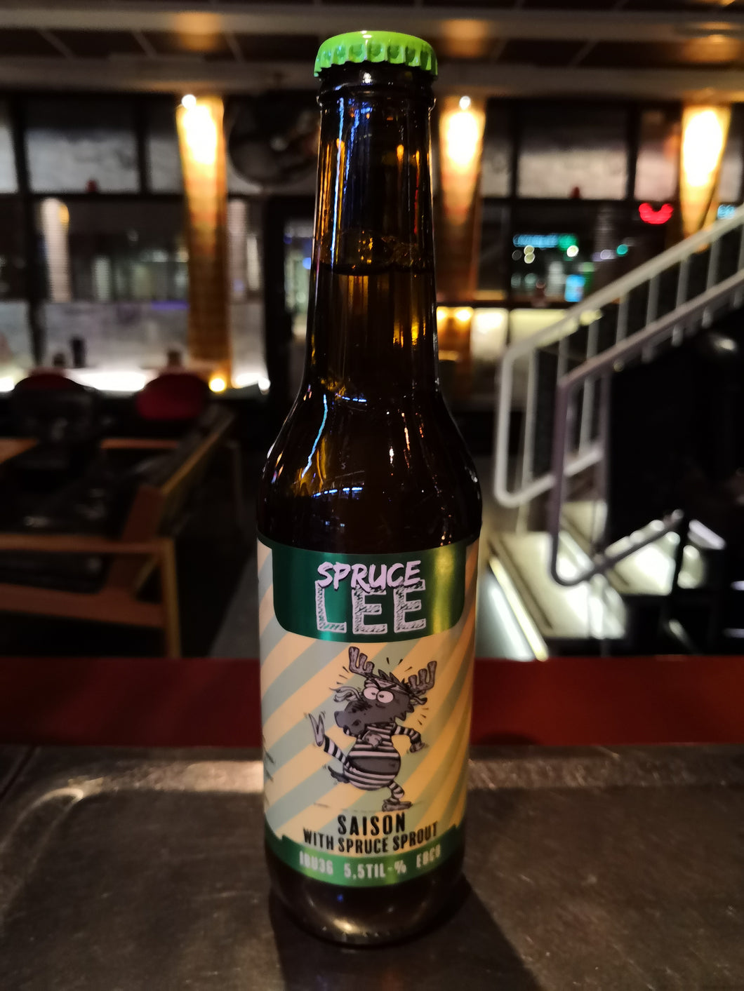 Moose on the Loose Spruce Lee Saison