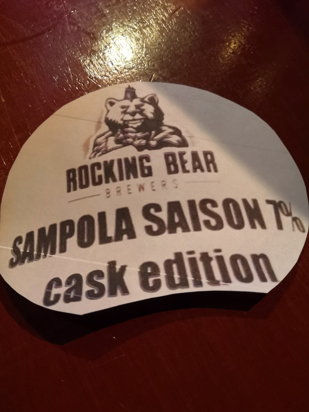 Rocking Bear Sampola Saison Cask Edition