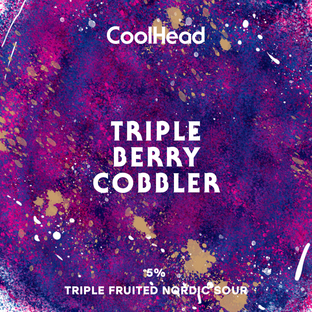 Cool Head Triple Berry Cobbler