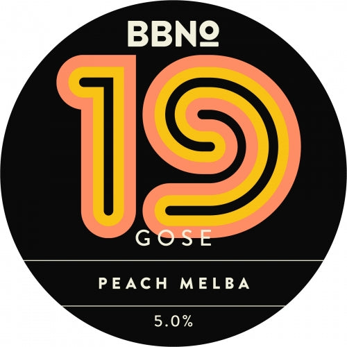 Brew By Numbers 19 Gose Peach Melba