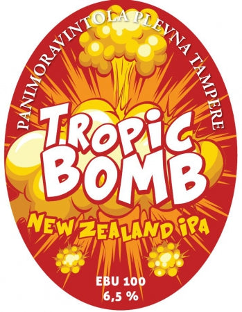 Plevnan Tropic Bomb New Zealand IPA HANASSA