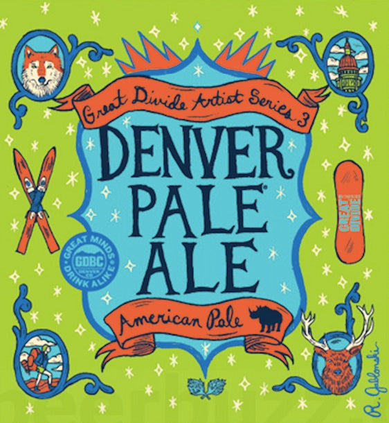 Great Divide Denver Pale Ale HANASSA