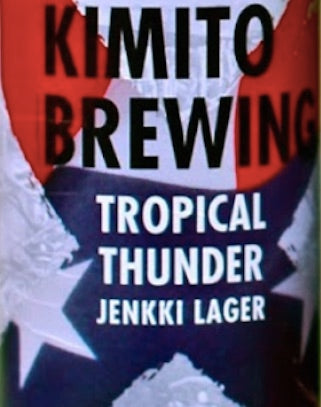 Kimito Brewing Tropical Thunder Lager HANASSA