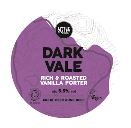 Little Valley Dark Vale Vanilla Porter