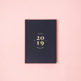Classic Navy: 2019 Planner by Helumi (with minor imperfections)