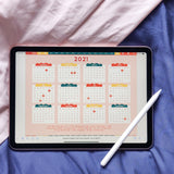 GO FORTH: 2021 Digital Planner for tablets