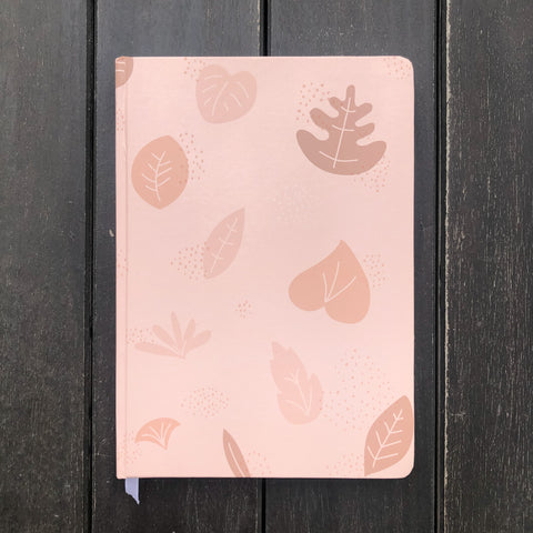 Blush Bullet Journal Notebook in A5