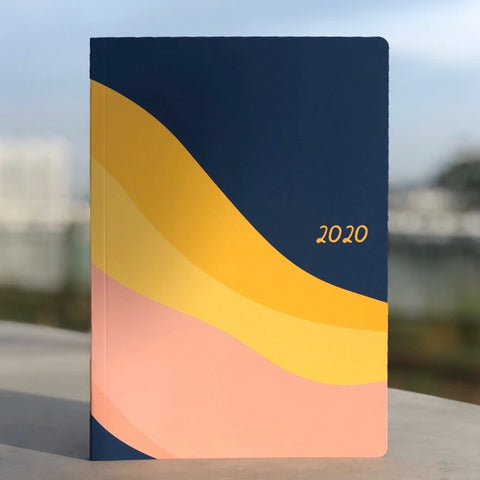 Into the Waves 2020 A5 planner by Helumi