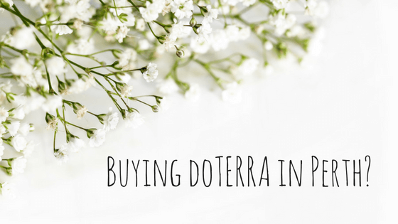 Where To Buy doTERRA In Perth? - Hidden Valley Co