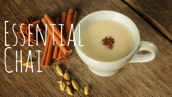 essential oil chai recipe