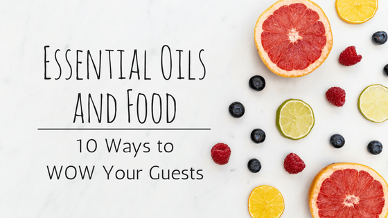 essential oils food recipes